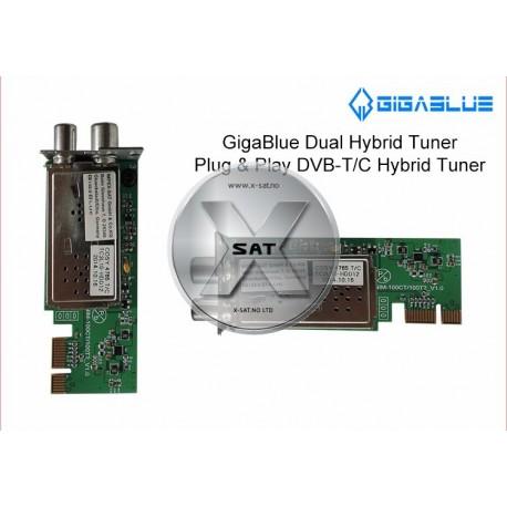 GigaBlue Twin Hybrid tuner