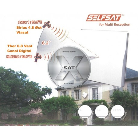Selfsat H50M1 Single LNB
