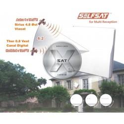 Selfsat H50M4 Quad LNB