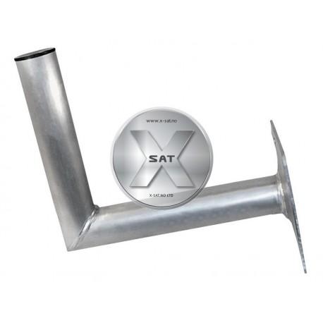 TUV Aluminium Veggfeste 25cm Alu