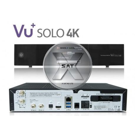 VU+ Solo 4K UHD 2xDVB-S2 FBC 1xDVB-S2