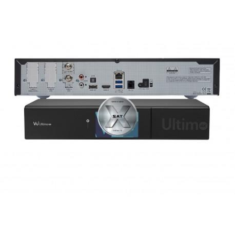 VU+ Ultimo 4K 1x DVB-S2 FBC Twin Tuner