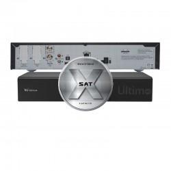 VU+ Ultimo 4K 1x DVB-S2 FBC Twin Tuner og 1xDVB-S2 Twin/DualTuner