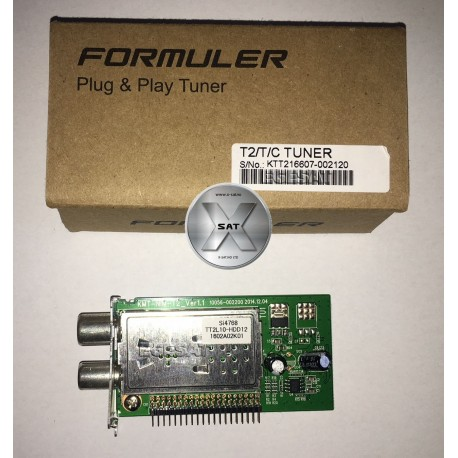 Formuler F1 DVB-T2-T-C tuner modul
