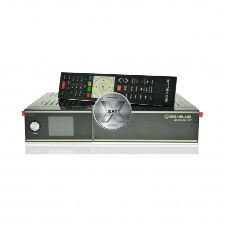 GigaBlue UHD UE 4K med 2 x DVB-S2 FBC Tuner
