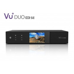 VU+ Duo 4K SE 1x DVB-S2X FBC Twin / 1x DVB-C FBC Tuner PVR ready Linux Receiver UHD 2160p