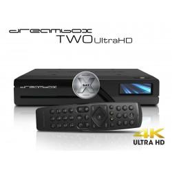 Dreambox Two Ultra HD BT 2x DVB-S2X MIS Tuner 4K 2160p E2 Linux Dual Wifi H.265 HEVC